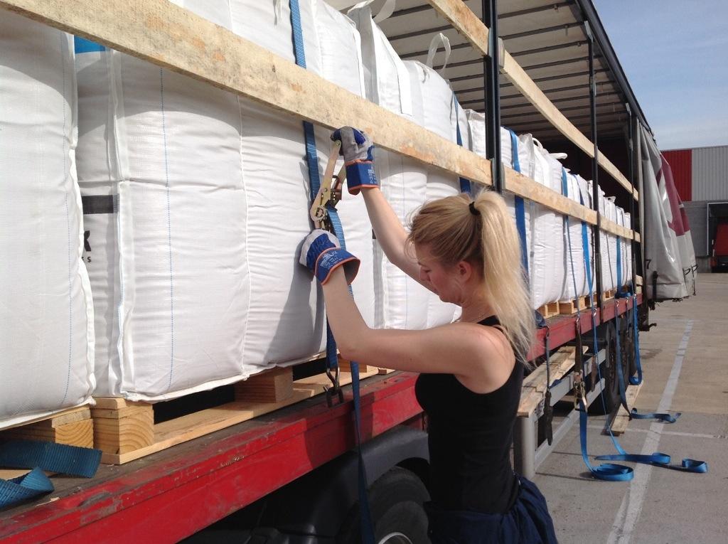 Iwona Blecharczyk al lavoro