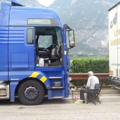 Il pasto del camionista