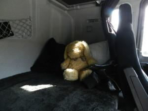 Il letto di un camion