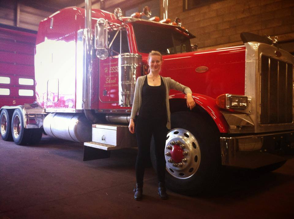 Iwona_Blecharczyk e il camion americano